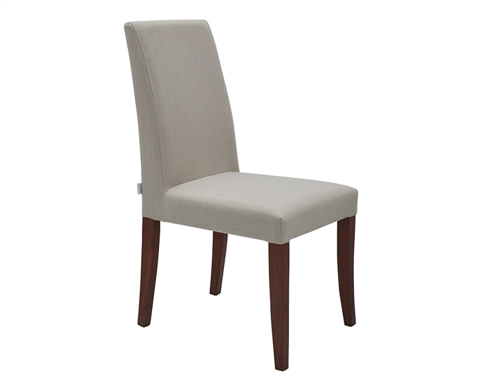 Canini Modern Dining Chair in Off White and White
