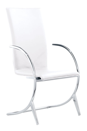 Stunning Valencia Chair comes in several color options and provides comfortable modern dining solution