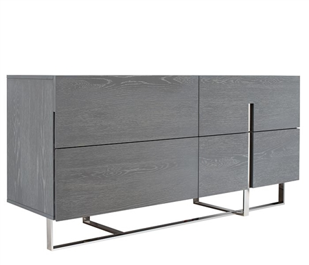 Lugo Modern Cabinet in Grey OAK