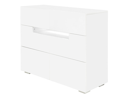 "Citra Modern Cabinet in White Lacquer 48"" - FINAL SALE - NO RETURNS"