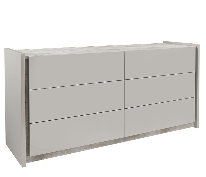 Ana Modern Cabinet in GREY