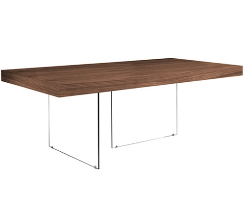 Lucca Modern Dining Table in Tobacco Outlet