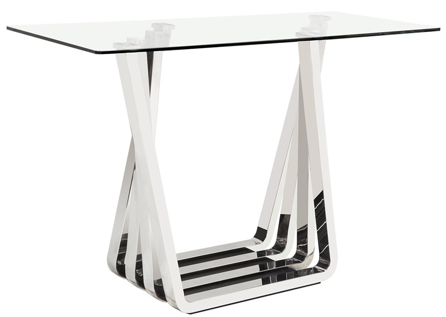 Delicieux Sorrento Stainless Steel Console Table