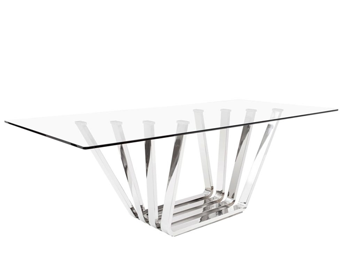 Sorrento Stainless Steel Dining Table