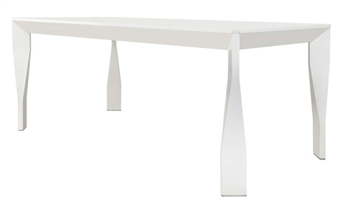 Cesano Modern Dining Table in White