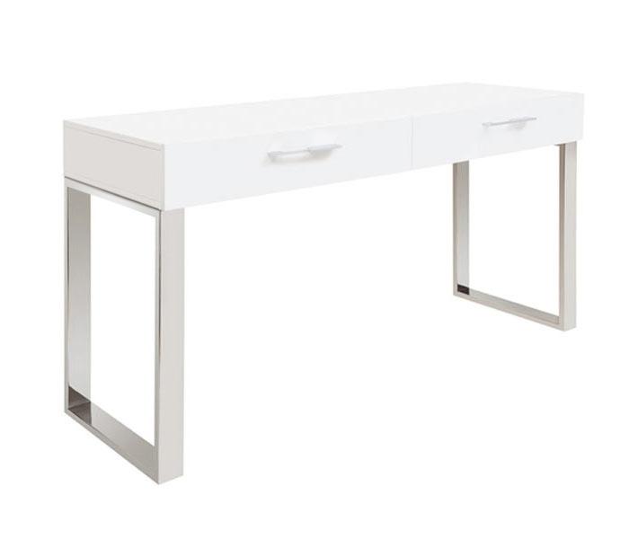 Corsica console table for White contemporary console table