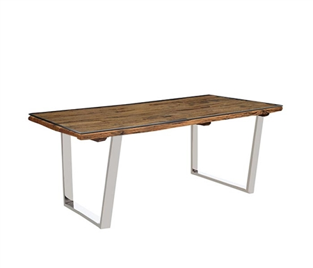 Amalfi Modern Rectangular Dining Table Small