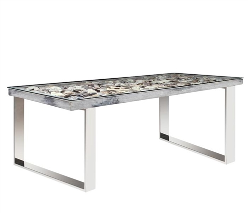 Infinity Rectangular Modern Dining Table