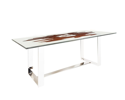 Ebony Rectangular Modern Dining Table