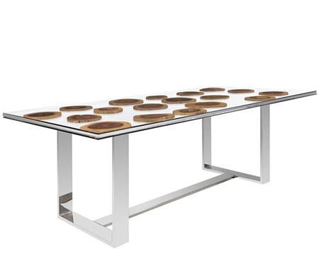 Essence Rosewood Modern Dining Table