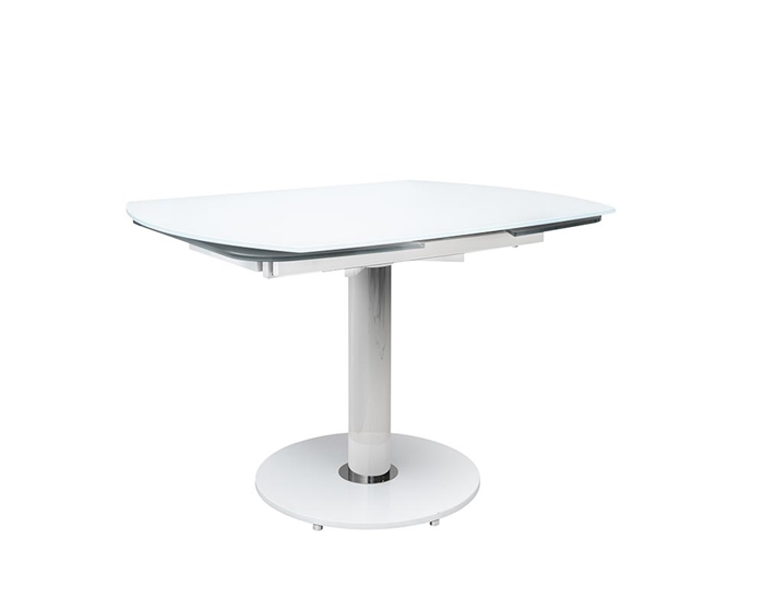 Saturn Rotating Modern Glass Dining Table