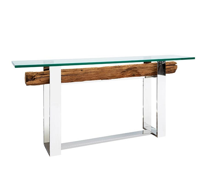 Amazona Modern Railway Console Table
