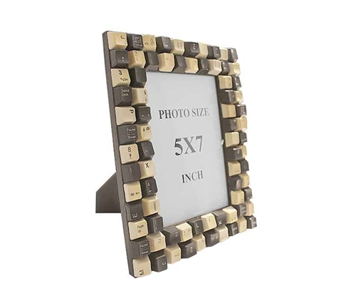 Keyboard Modern Photo Frame Small