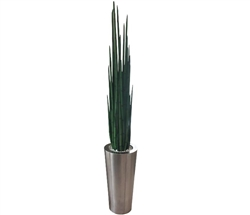 Stainless Steel Cone With 6 Feet  Snake Grass