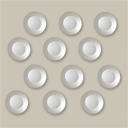 Jewel Modern Mirrors - Set of 12 - *Special Order