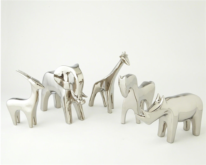 Animal Bright Silver Accessories
