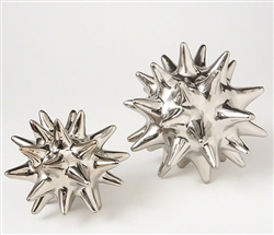 Urchin Silver Modern Accessory- Large