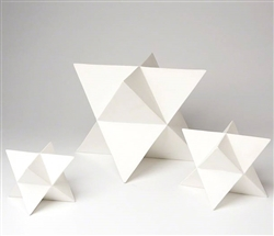 Modern Star Object Accessory White