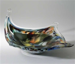Soaring Modern Bowl - Earth