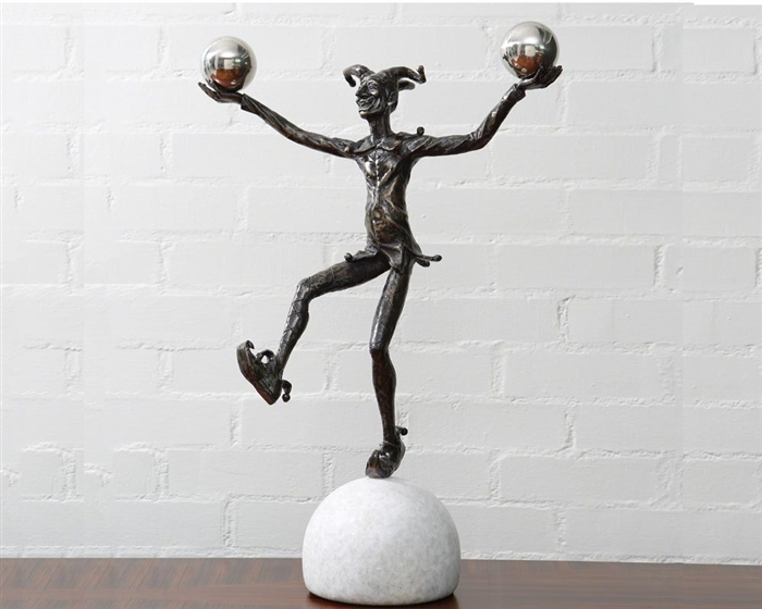 Juggling Jester Modern Sculpture