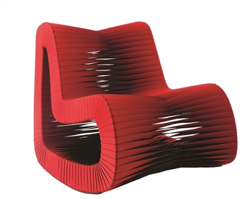 Seat Belt Rocking Chair RED *Special Order
