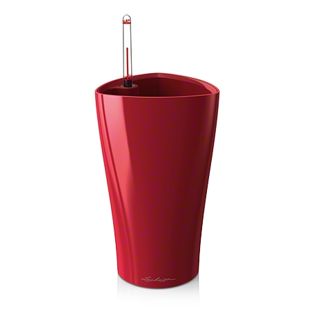 Delta Red Lacquer 40  - Modern Self Watering AS IS - FINAL SALE - Contact Showroom for info