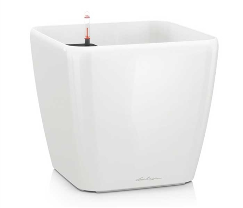 Self- watering planter all-in-one Rondo White 40