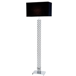 Hartford Modern Floor Lamp - Black Shade - FLOOR SAMPLE