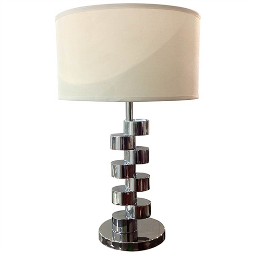 Mazza Table lamp with beige shade