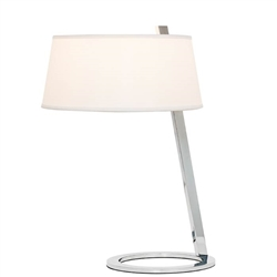 Sollier White Shade Modern Table Lamp - *