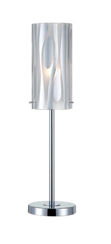 A very stylish, contemporary lamp set