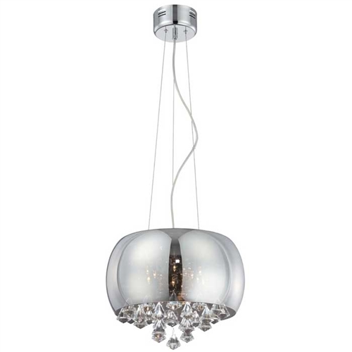 An ultra-modern and contemporary ceiling lamp