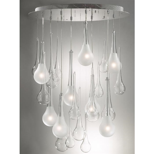 Waterfall Modern Ceiling Lamps