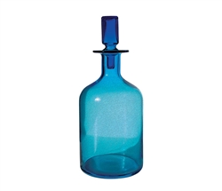 Pool Blue Decanter