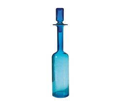 Pool Blue Decanter - Tall