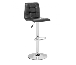 Oxygen Modern Bar Chair  - Black