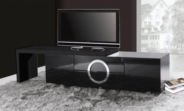 Mh2g -media units- nemi black TV unit