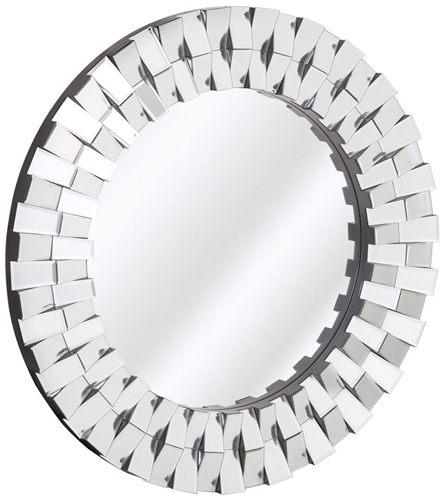 Piantini Beveled Modern Mirror Panel  *