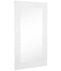 Flow full length mirror (white lacquer) 44❠W X 82❠H