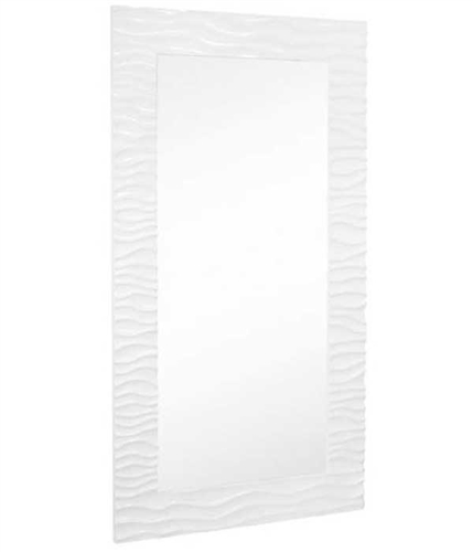Flow full length mirror (white lacquer) 44� W X 82� H
