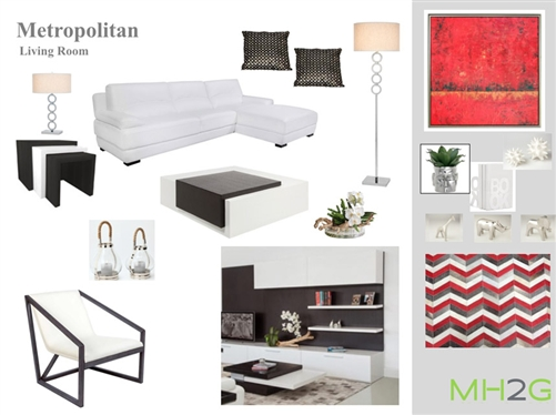 Sensational Metropolitan Living Room Package