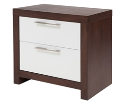 Vercelli Modern Side Table in Tobacco