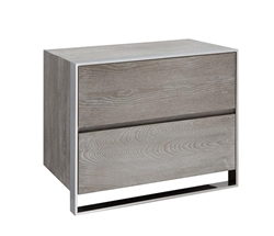 Turni Modern Side Table in Grey
