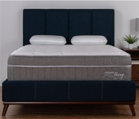 "Nature's Sleep 14"" Copper Infused Gel Memory Foam Mattress - QUEEN"