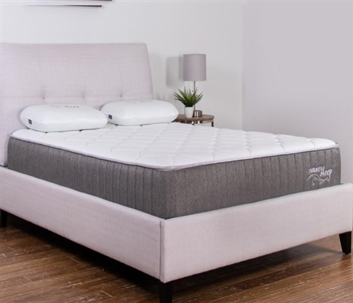 "Nature's Sleep 10"" Quilted Gel Memory Foam Mattress - TWIN"