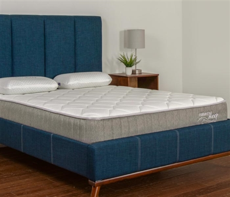 "Nature's Sleep 8"" Gel Memory Foam Mattress - TWIN"