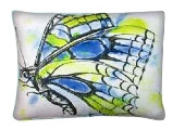 "Butterfly Modern Outdoor Modern Pillow - 19"" x 24"""