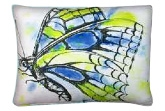 Garden Flying Insects Outdoor Pillows