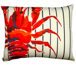 lobster Outdoor Pillows