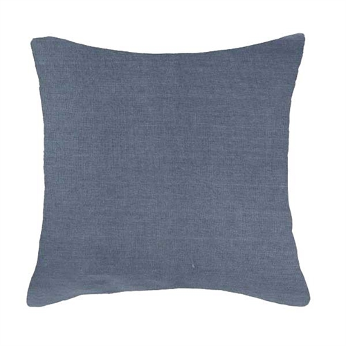 "Modern Pipe Linen Navy Pillow 22"" x 22"""